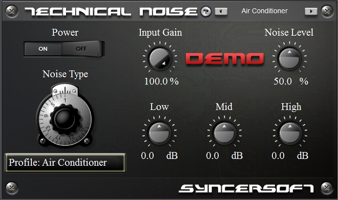 VST which adds atmosphere of the analog rec.