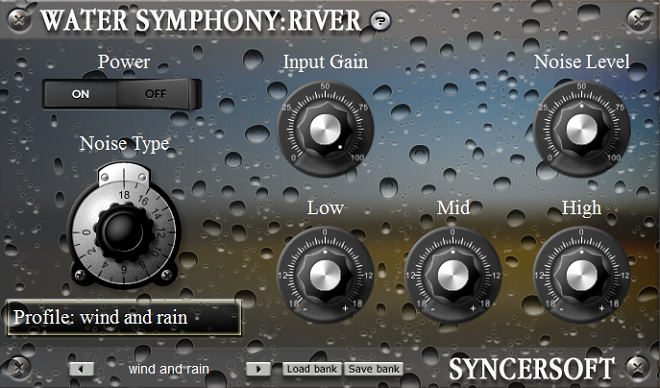Water nature ambient VST
