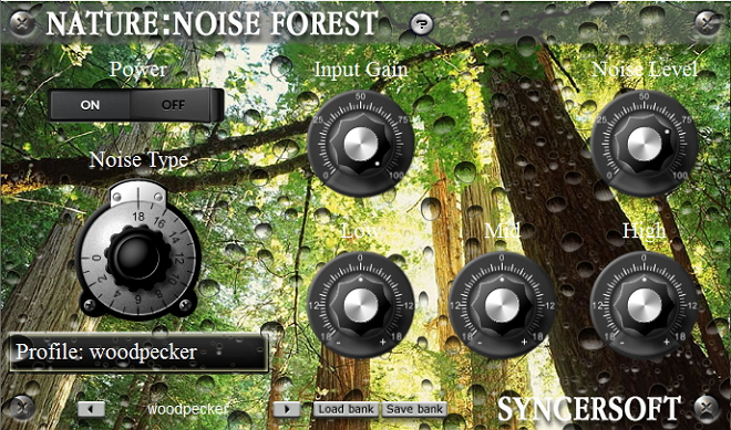 Nature: Noise Forest is a VST audio plug-in.