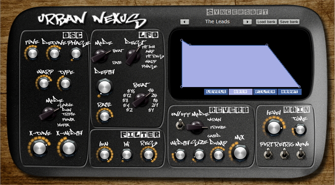Free (VSTi) Nexus synthesis synthesizer with extended possibilites of modulation