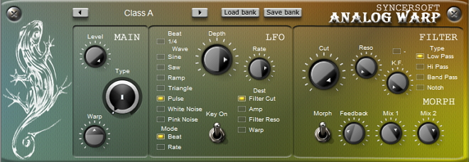 Free VST warp and morph effect designed to deliver the clear.